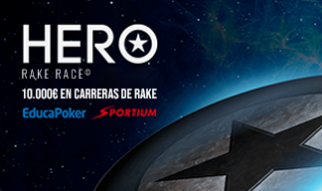 Hero Rake Race repartirá 10.000 € en febrero'21 en Sportium