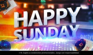 Disfruta de un domingo de torneos en partypoker.es al 50 %