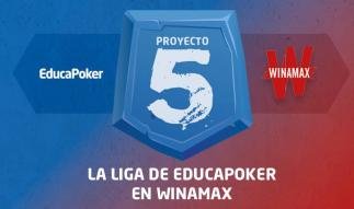 """""""Hispano300"""" gana la segunda jornada de Proyecto 5 de Winamax y EducaPoker"""