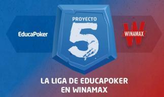 ¡Ya tenemos finalistas de la segunda liga Proyecto 5 de Winamax!