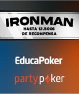 IRONMAN: hasta 12.500€ en recompensas en partypoker